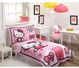 Hello Kitty 4-Piece Toddler Bedding Set