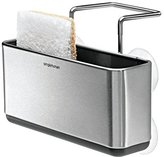 Simplehuman KT1134 Slim Sink Caddy, Stainless-Steel, Silver