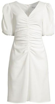 Black Halo Amelie Tie-Dye Sheath Dress