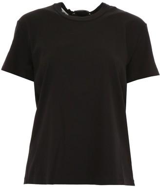 Moncler Genius X Noir 6 Kei Ninomiya Lace-up T-Shirt
