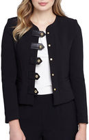 Tahari Arthur S. Levine Faux Leather Jacket