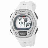 Timex Men's 'Ironman' Quartz Resin Sport Watch, Color:White (Model: TW5K88100E4)