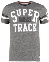 Superdry Trackster Sprint Print Tshirt Low Light Black
