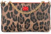 Dolce & Gabbana mini leo crepe clutch
