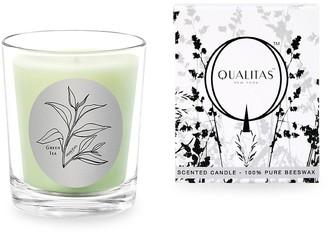 Qualitas Candles Green Tea Candle/ 6.5 oz.