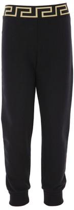 Versace Metallic Greca Sweatpants (4-14 Years)