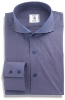 Maker & Company Regular Fit Houndstooth Dress Shirt