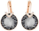 Swarovski NEW Bella V Pierced Large Grey Earrings