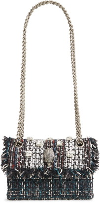 Kurt Geiger Mini Kensington X Tweed Bag