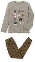 La Redoute Collections Badge-Print Pyjamas, 2-12 Years