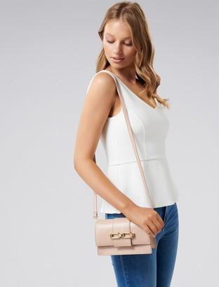 Forever New Vivian Chain Shoulder Bag - Nude - 00