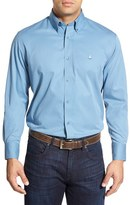 Nordstrom Men's Smartcare(TM) Traditional Fit Twill Boat Shirt