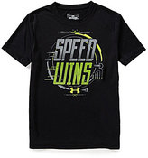 Under Armour Big Boys 8-20 Victorious Speed Short-Sleeve Graphic Tee