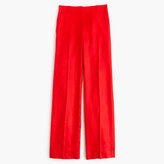 J.Crew Petite full-length linen pant