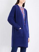 Diane von Furstenberg Longline cashmere cardigan