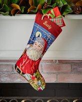 Sferra Santa Needlepoint Stocking