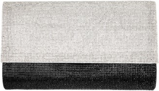 Nina Handbags Crystal Color-Block Clutch - Artemisa