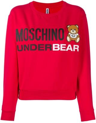 Moschino Underbear lounge sweatshirt