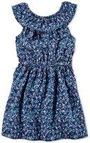 Carter's Ruffle Print Dress, Little Girls (2-6X) & Big Girls (7-16)