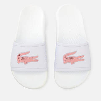Lacoste Women's Croco Slide 119 3 Sandals