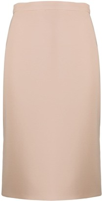 Loulou High-Rise Pencil Skirt