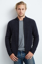 Kase Cashmere Zip-Up Sweater