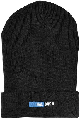Undercover PATCH WOOL BLEND KNIT BEANIE HAT