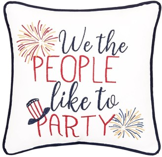 C&F Home Patriotic 10 x 10 Toss Decorative Accent Throw Pillow