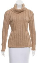 Brunello Cucinelli Rib Knit Turtleneck Sweater