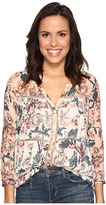 Lucky Brand Mixed Print Peasant Women's Clothing