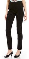 Alex Marie Slim Fit Flat Front Pant