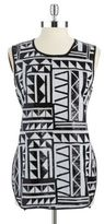 Vince Camuto Tribal Patterned Sequin Tank