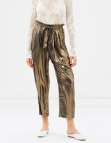 Free People Metal Harem Pants