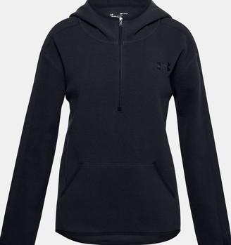 Under Armour Girls' UA Winter Weight Fleece Zip Hoodie
