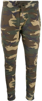 DSQUARED2 Skinny Fit Camouflage Print Track Pants