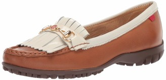 Marc Joseph New York Womens Golf Genuine Leather Made in Brazil Lexington Performance Loafer Moccasin
