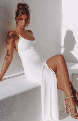 The Edit Alissa Formal Dress White