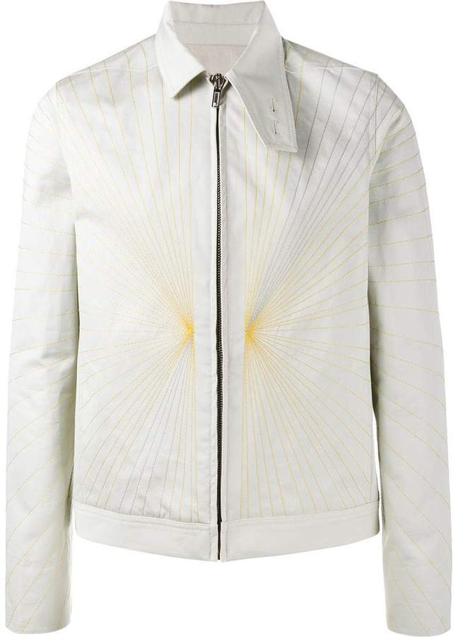 Rick Owens embroidered Brother jacket
