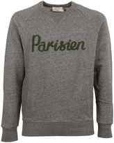 Kitsune Grey Melange parisien Sweatshirt