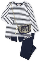 Juicy Couture Toddler Girls) Two-Piece Purse Pocket Tunic & Leggings Set