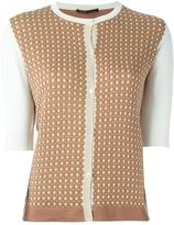 Agnona half sleeve cardigan