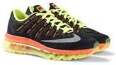 Nike Black and Orange Air Max 2016 Running Trainers