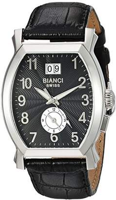 Roberto Bianci WATCHES Women's La Rosa Stainless Steel Swiss-Quartz Watch with Patent Leather Strap