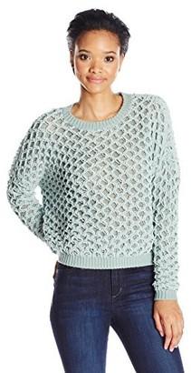 Noisy May Women's Jay O-Neck Cozy Sweater