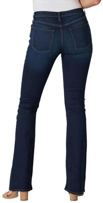 Hudson Women's Denim Pants and Jeans - Dark Blue Nico Mid-Rise Bootcut Jeans - Women