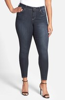 Plus Size Women's Poetic Justice 'Maya' Stretch Skinny Jeans