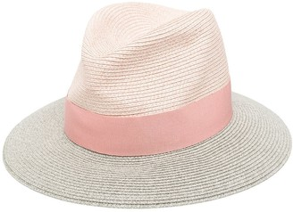 Emporio Armani Woven Fedora Hat
