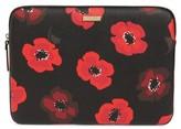 Kate Spade Poppy 13-Inch Laptop Sleeve - Black
