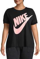 Nike Futura Crew Neck T-Shirt - Plus