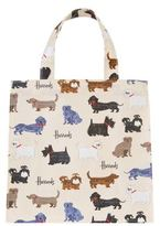 Harrods Small Walking Dogs Shopper Bag